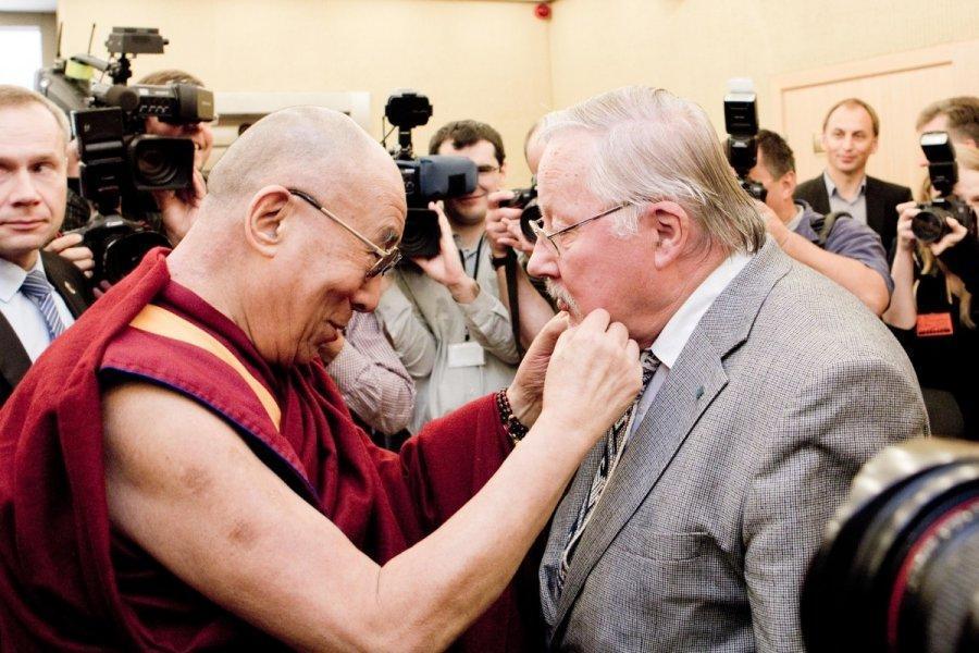 Далай-Лама посещает Литву / delfi.lt