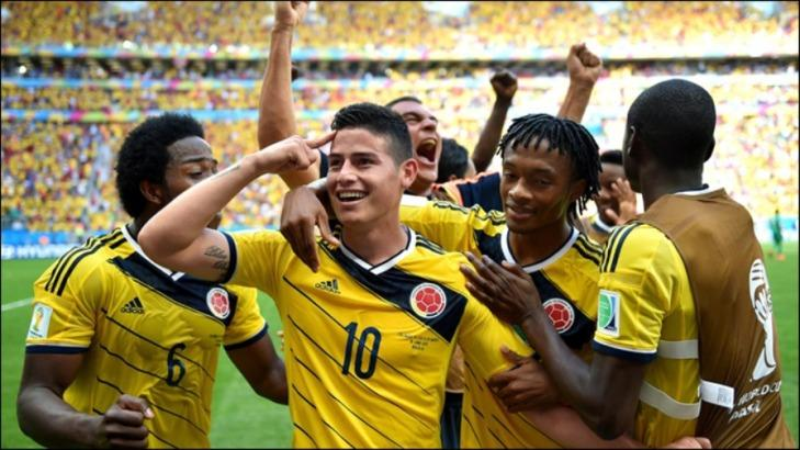 Сборная Колумбии является фаворитом группового этапа ЧМ в группе Н / campeones.ua