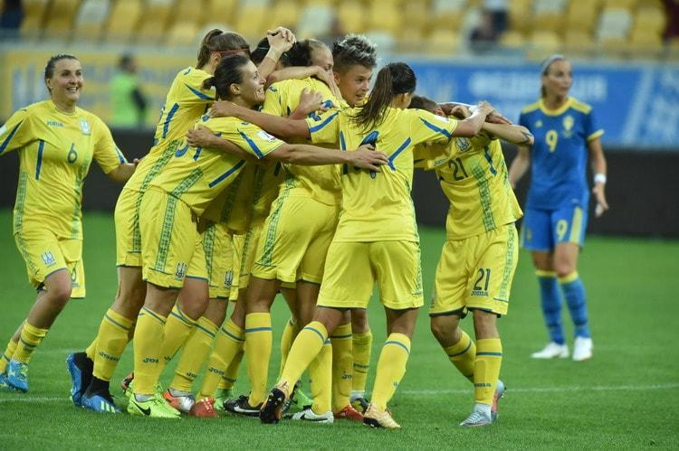 Женская сборная Украины по футболу обыграла Швецию - 1:0 / ffu.org.ua