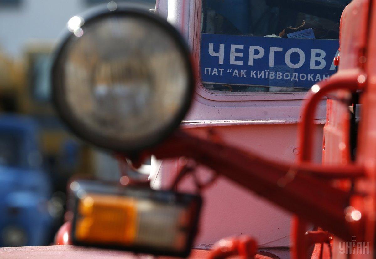 В оболонском районе столицы устранили крупный прорыв трубопровода / УНИАН