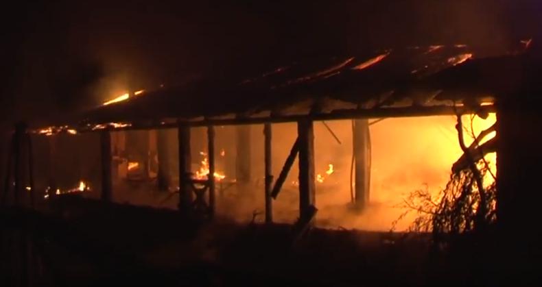 К ликвидации пожара привлекалось 23 спасателя / ГСЧС