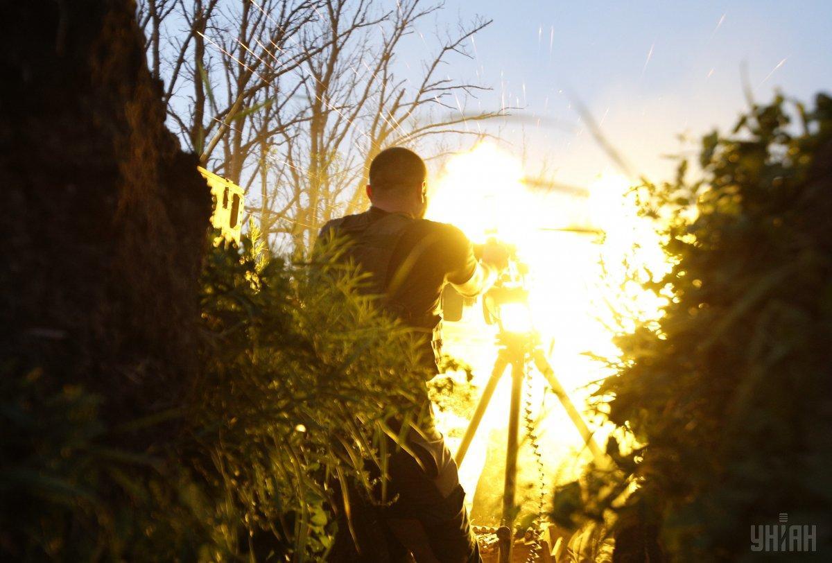 Оккупанты 5 раз прицельно обстреляли позиции Вооруженных сил Украины / фото УНИАН