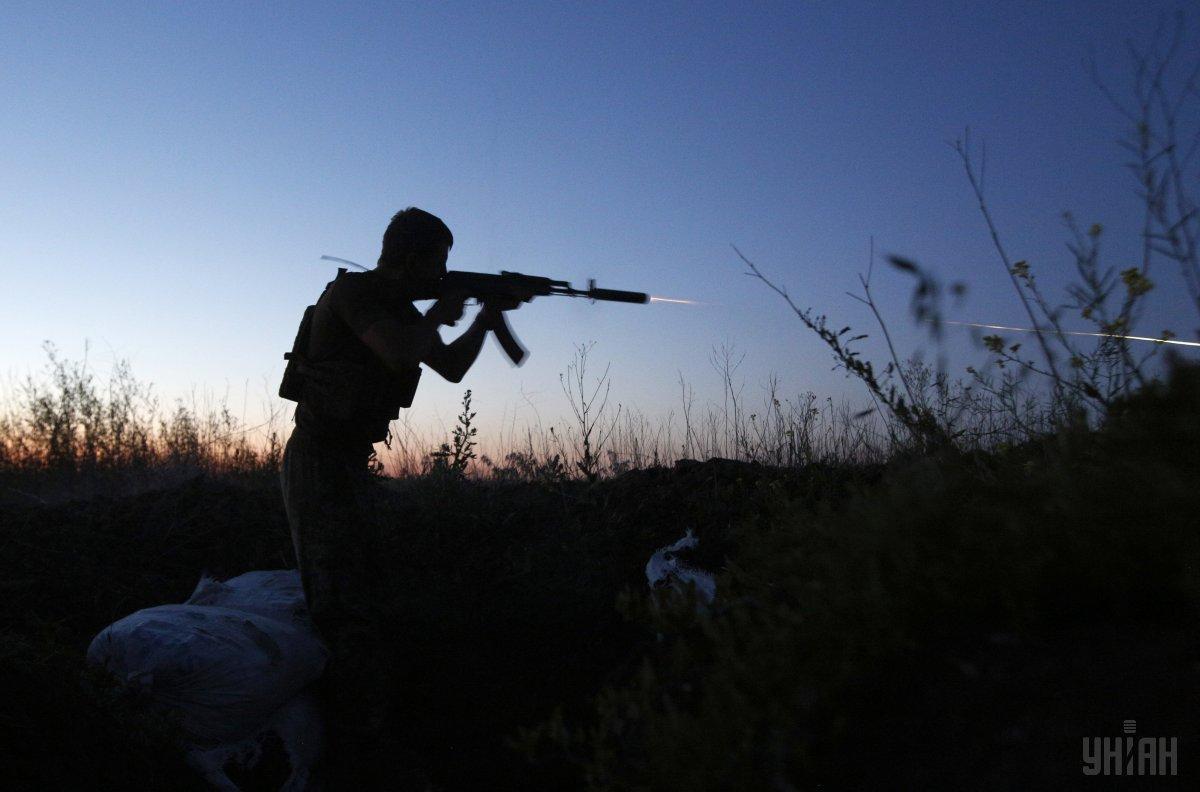 На Донбассе ранен один военный / фото УНИАН
