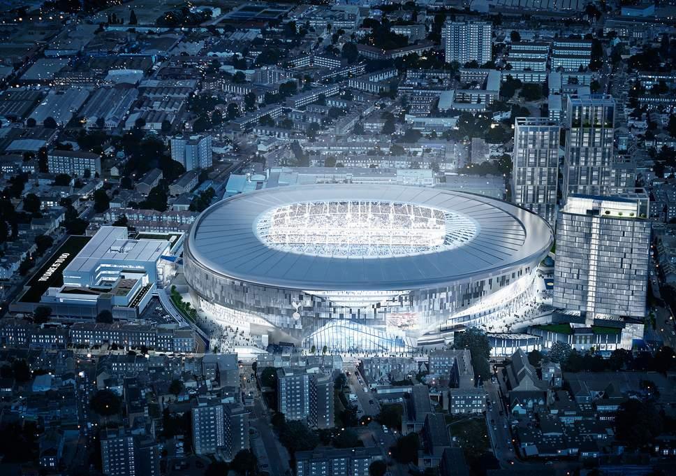 """""""Тоттенхэм"""" впервые сыграет на новом стадионе уже в сентябре / Tottenham Hotspur"""