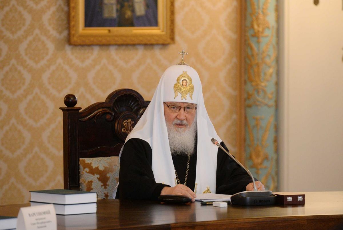 Патріарх Кирил/ patriarchia.ru