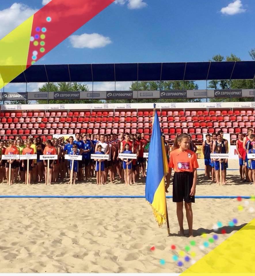 У столичному Гідропарку відбувся чемпіонат України з пляжного гандболу / Асоціація пляжного гандболу України