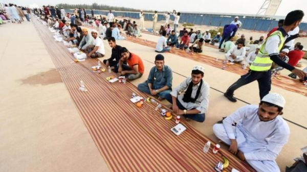 Рекордный ифтар прошел в Дубае / islam-today.ru