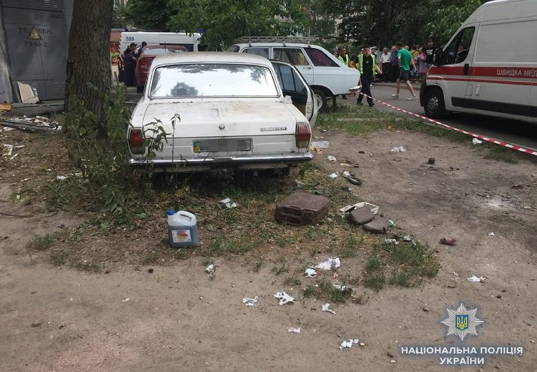 Владелец злополучной «Волги», которая взорвалась в июне, сидит в СИЗО / фото kyiv.npu.gov.u