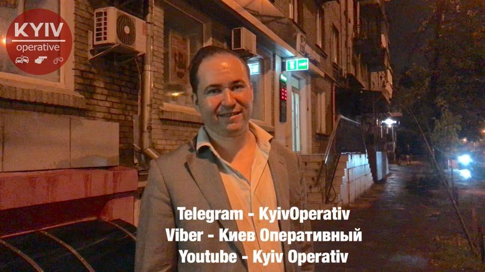 Консул випивав у ресторані Чачапурі / фото Киев Оперативный