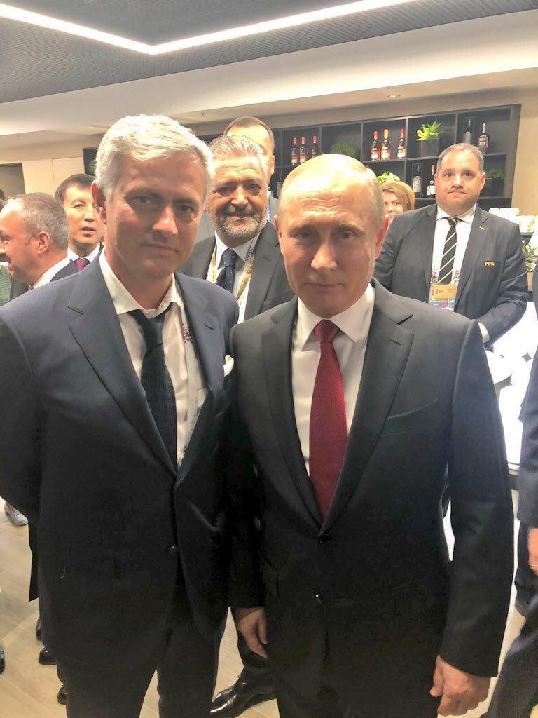 Номинальный рост Путина составляет 170 см / Facebook Алексей Голобуцкий