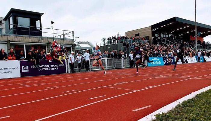 Стуй виграла легкоатлетичний турнір у Франції в забігу на 100 метрів / facebook.com/kristina.stuy