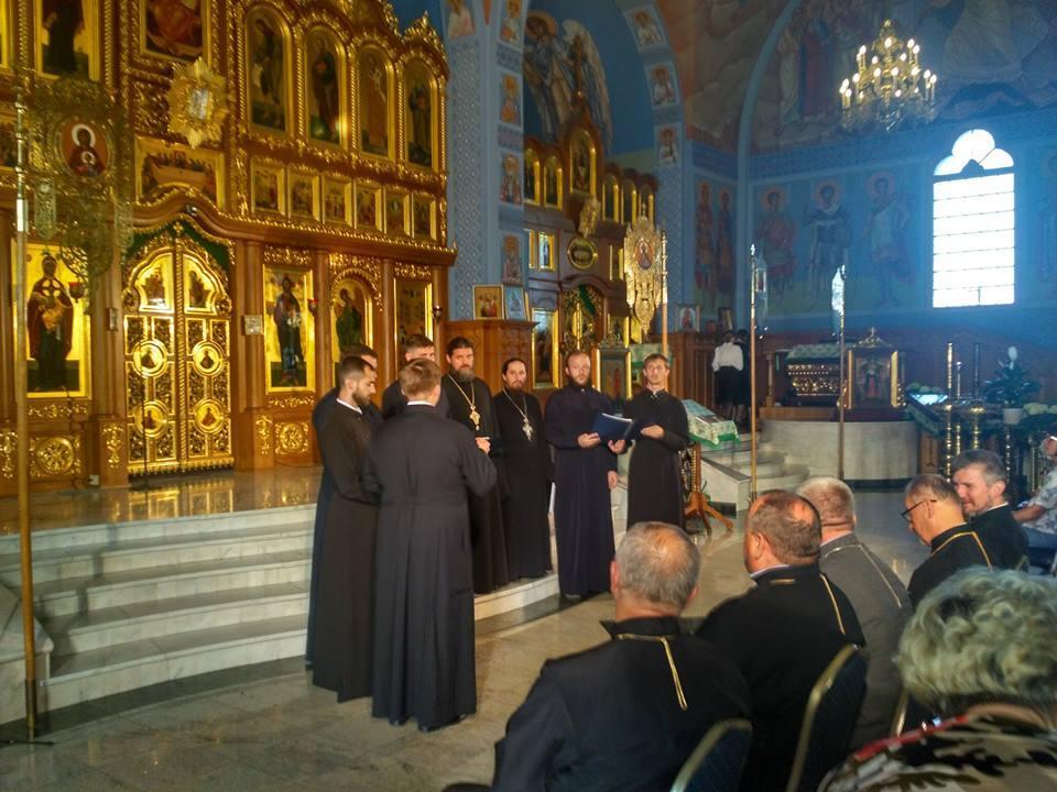 Семінаристи взяли участь у Міжнародному фестивалі «Під Покровом Богородиці» / ternopil.church.ua