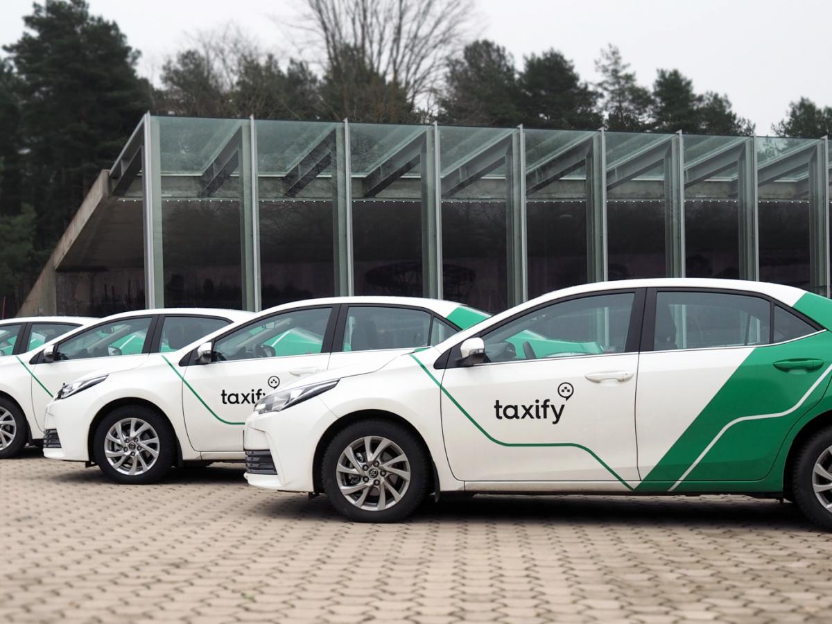 ВКиеве перезапускается Taxify