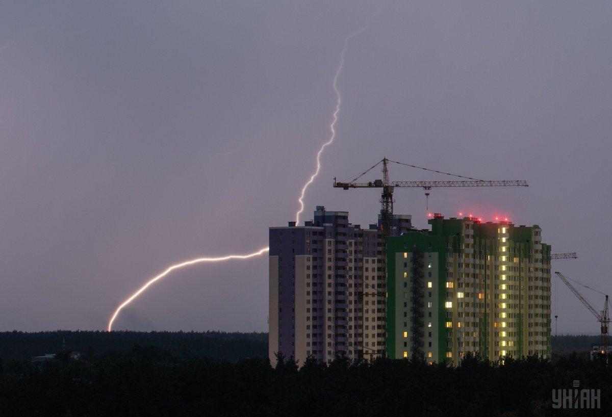 У Києві завтра пройде дощ з грозою / УНІАН