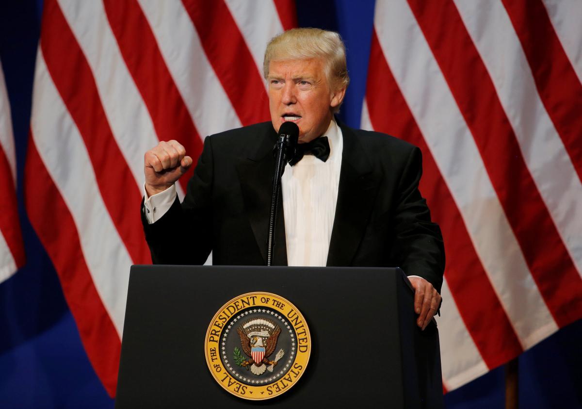 Президент США Дональд Трамп /REUTERS