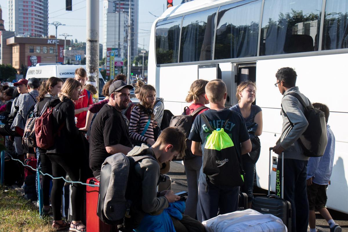 В автобусе находилось 25 детей / фото Владислав Кузнецов / Информатор