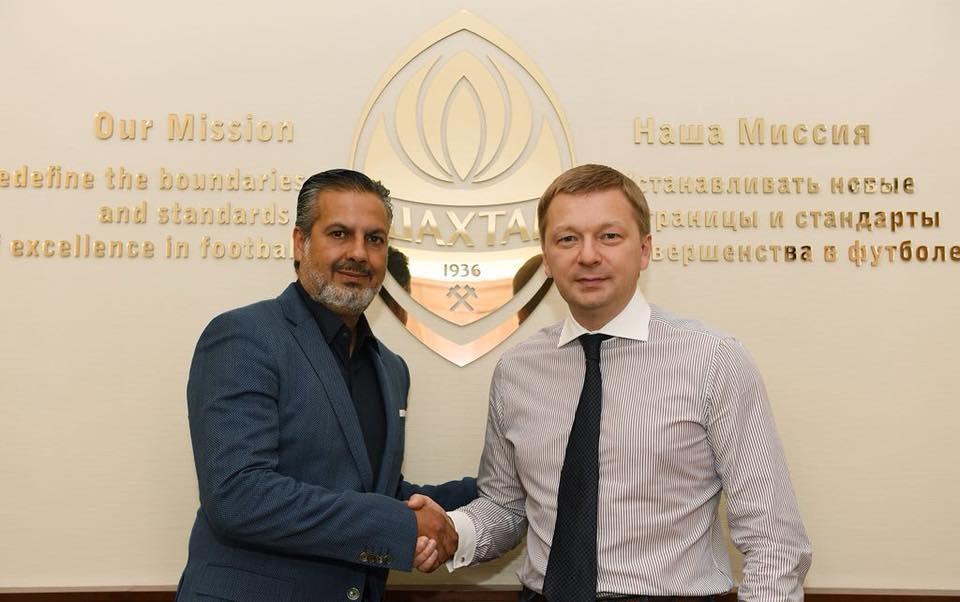 """""""Шахтар"""" отримав нового керівника селекційної служби / facebook.com/Palkin.Sergey"""