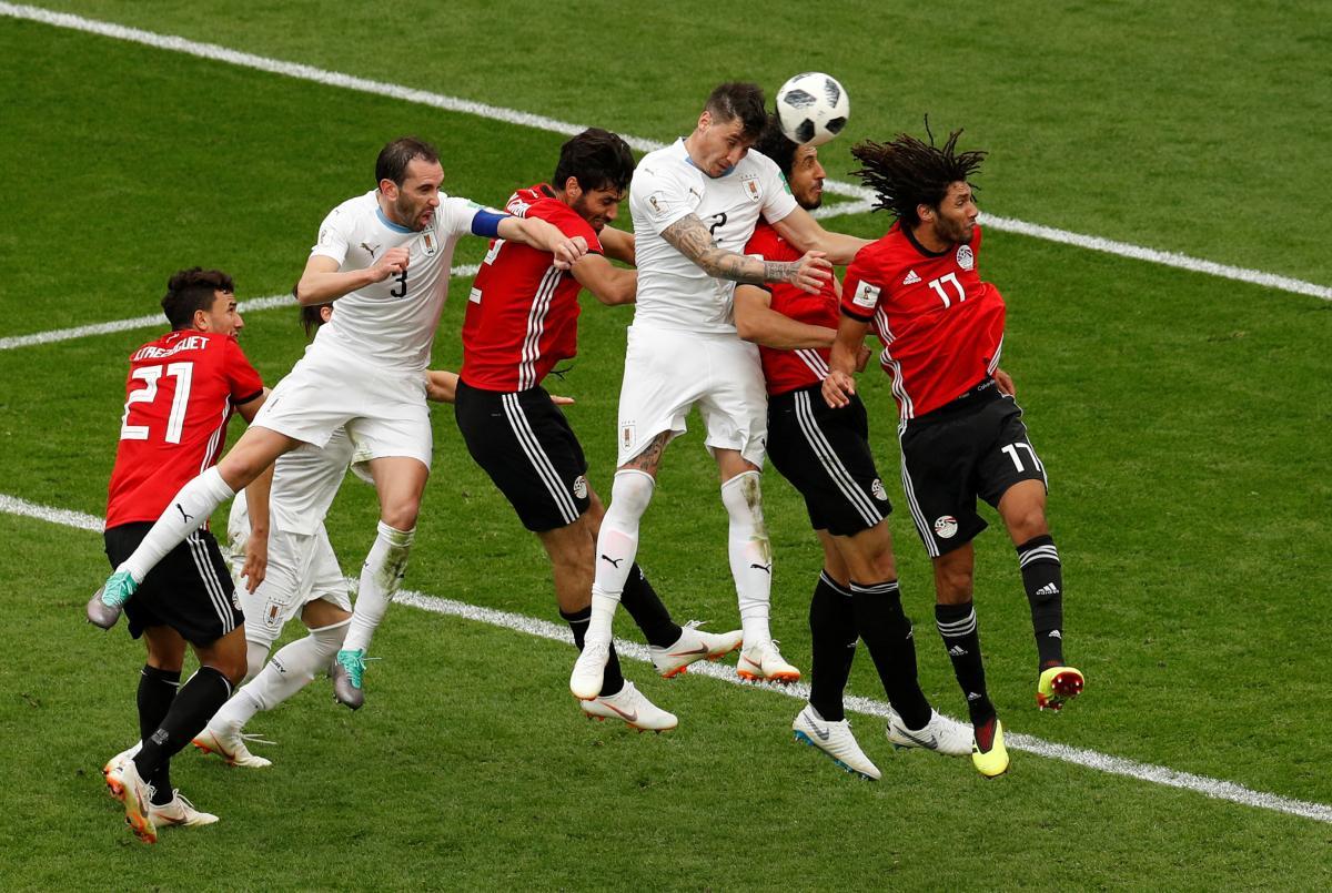 Удар Хименеса стал победным в матче Уругвая против Египта / Reuters