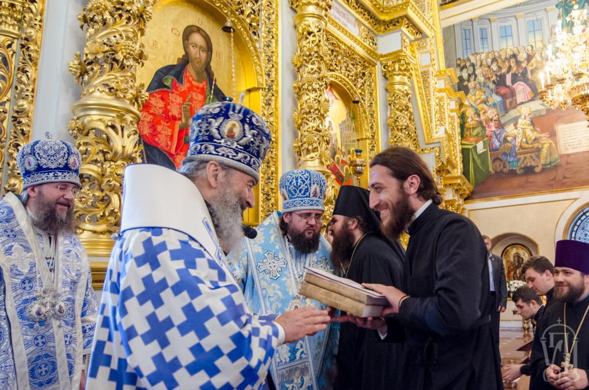 Митрополит Онуфрий подчеркнул, что после выпуска духовной школой для молодых священников станет их жизнь в приходах / news.church.ua