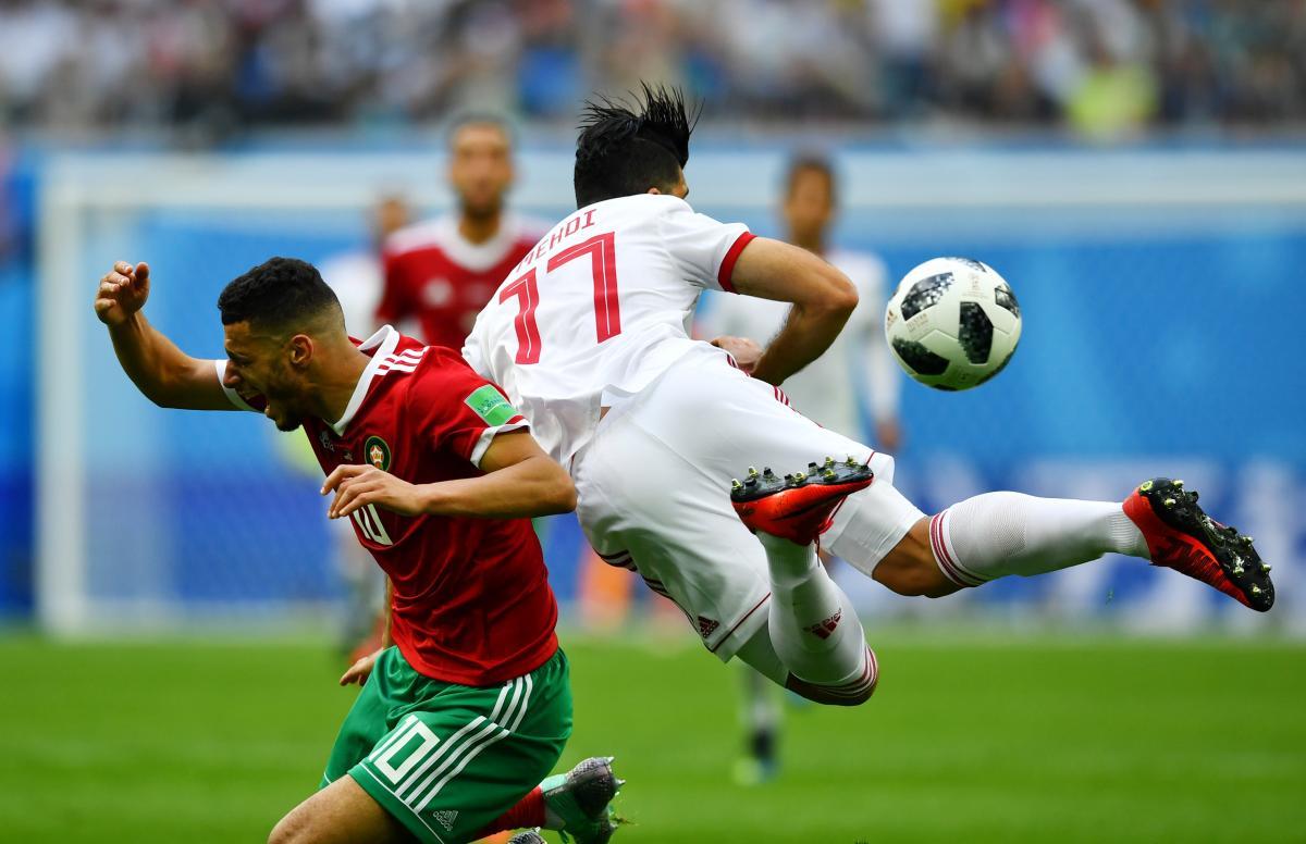 Сборные Ирана и Марокко не смогли друг другу забить голов / Reuters