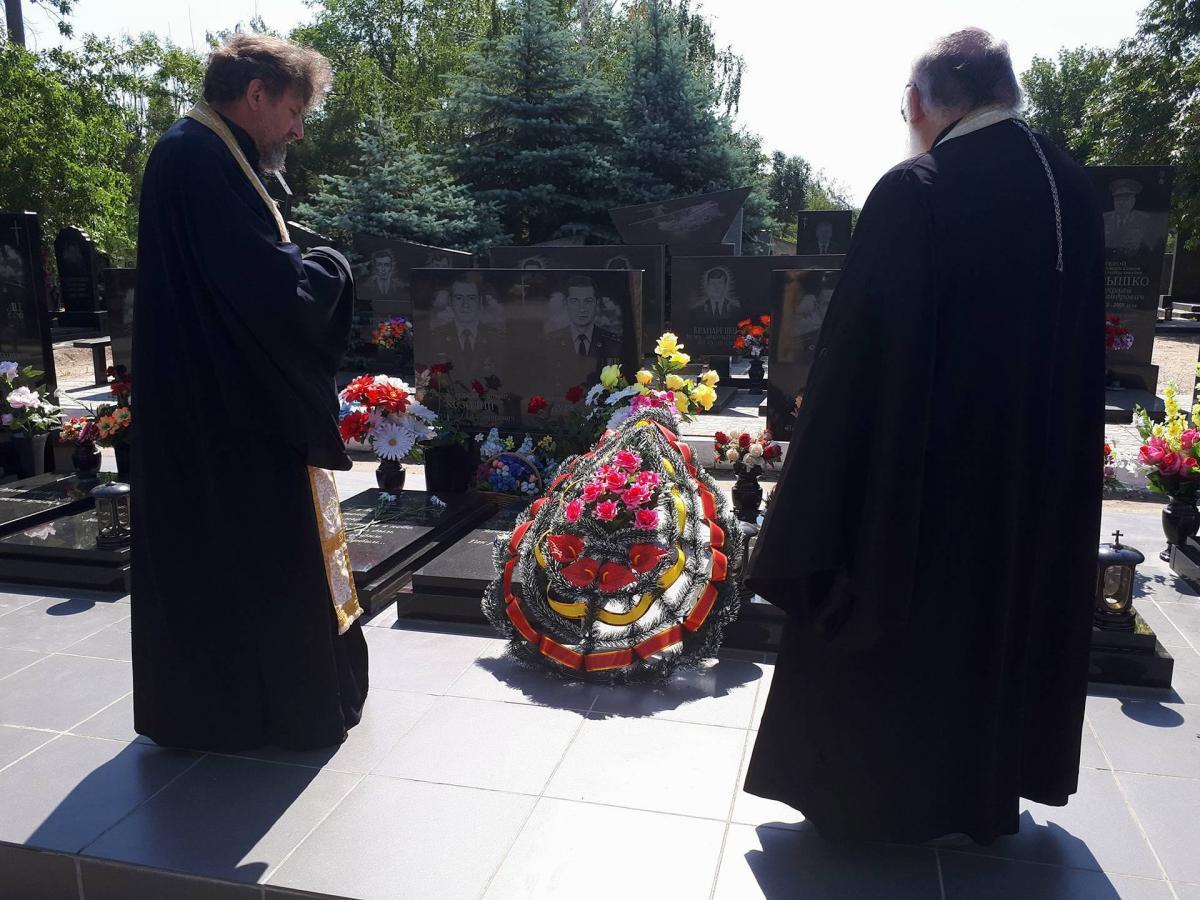 В Мелитополе почтили память погибших летчиков / hramzp.ua