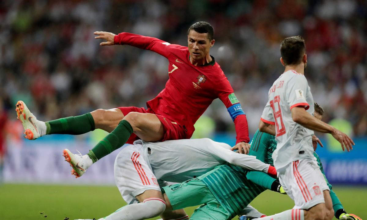 Криштиану Роналду в первом матче на ЧМ-2018 отличился хет-триком / Reuters