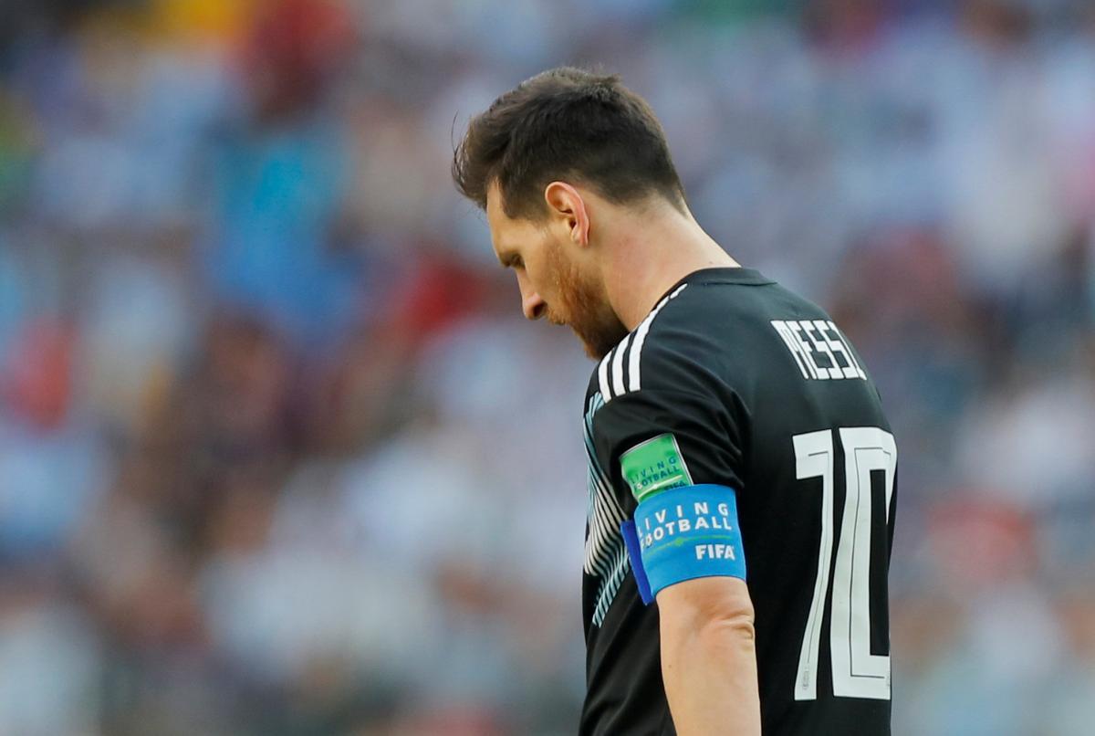 Мессі не приніс Аргентині перемогу над Ісландією / Reuters