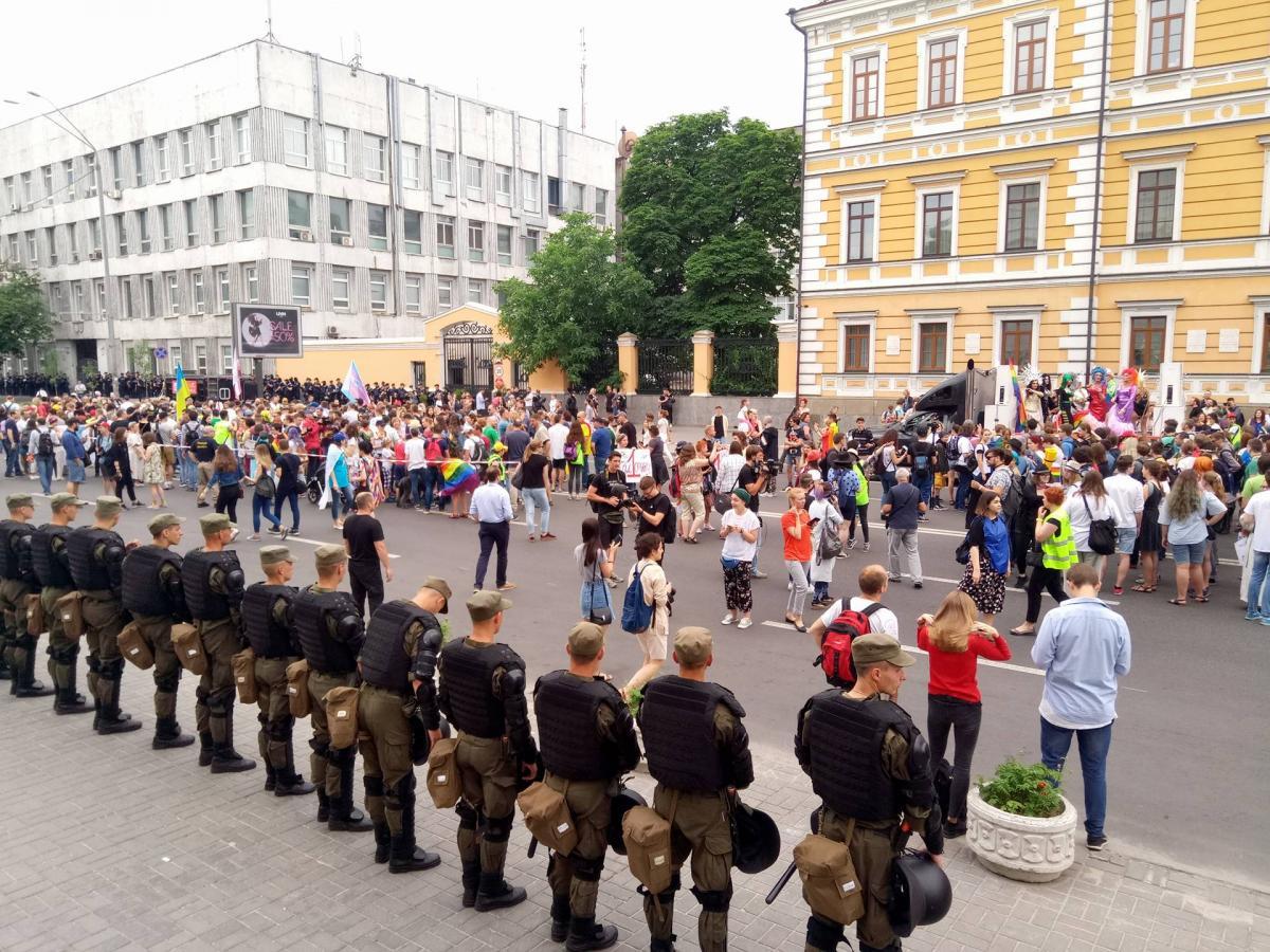 В Киеве сегодня проводится ЛГБТ-парад / УНИАН