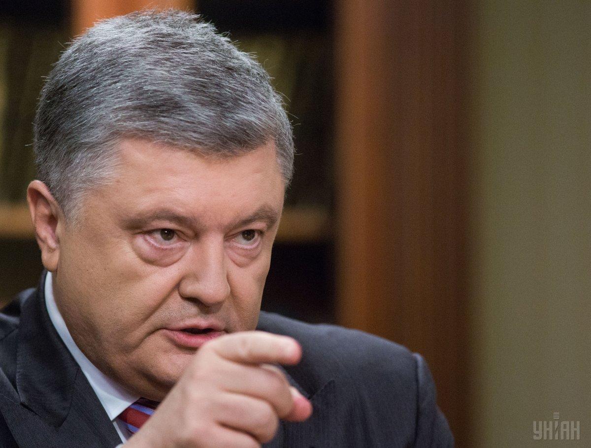 Порошенко считает идею 50% авансового платежа прекрасной / фото УНИАН