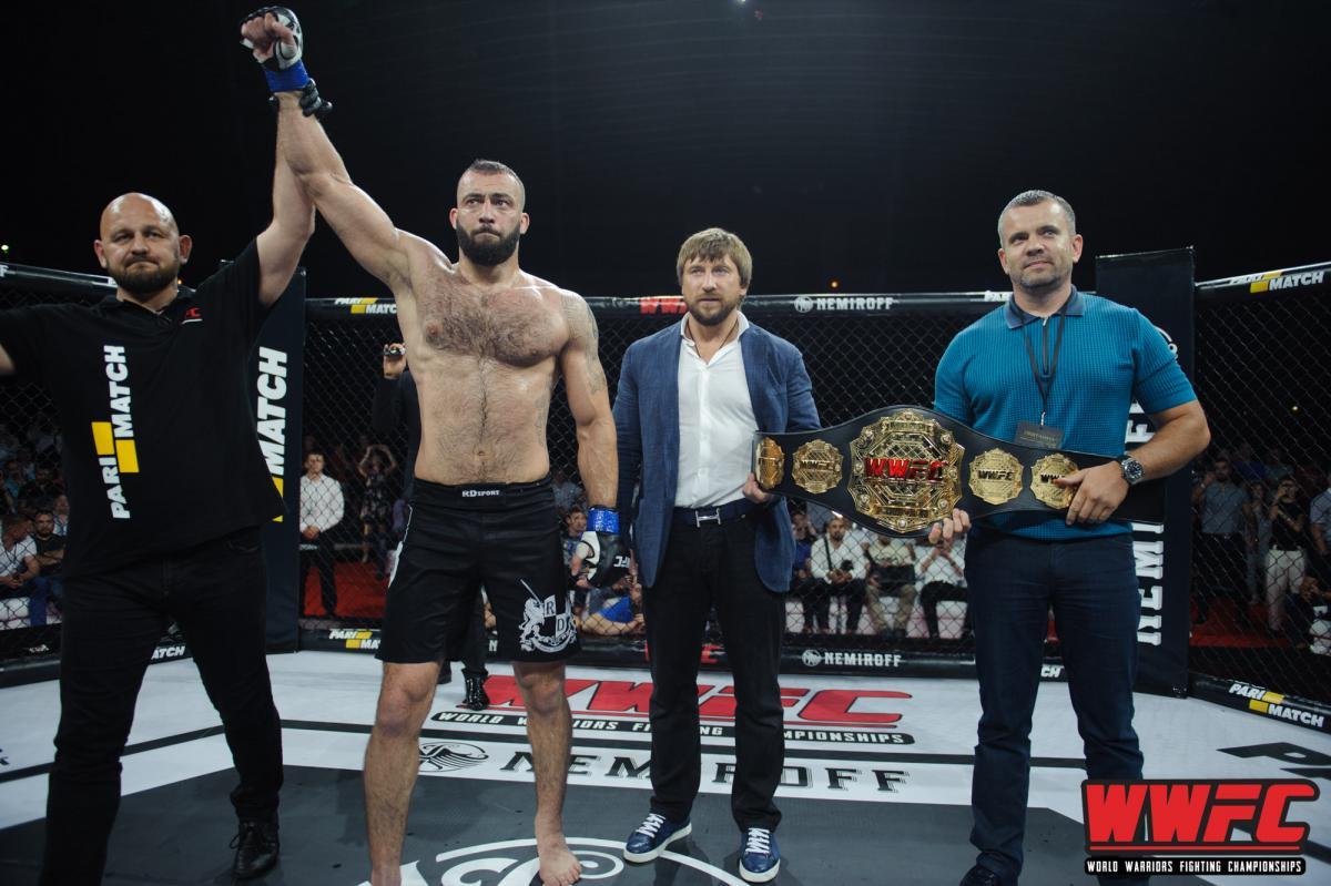 Сергій Гузєв успішно захистив титул чемпіона WWFC