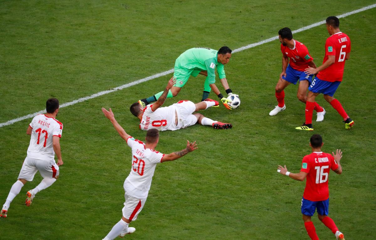 Коста-Рика - Сербия / REUTERS
