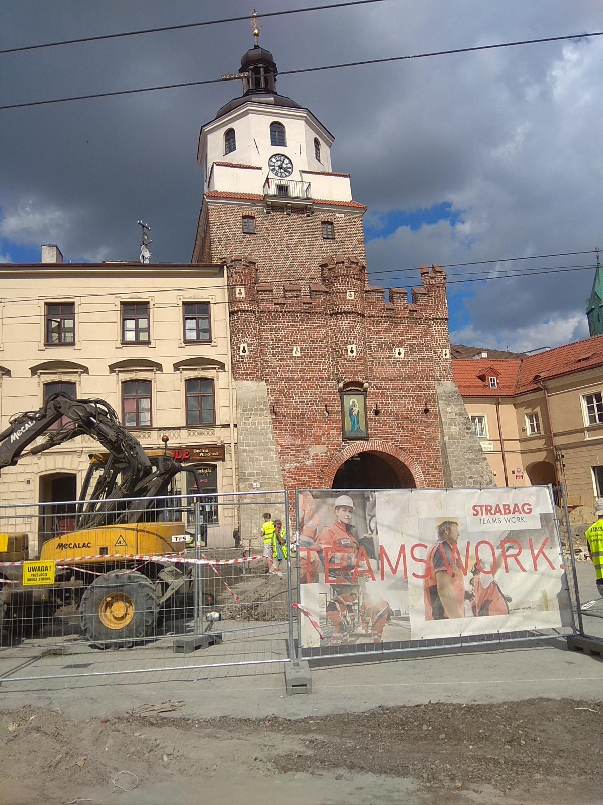 Краковские ворота были построены после татарского нашествия / фото Варвара Вайс