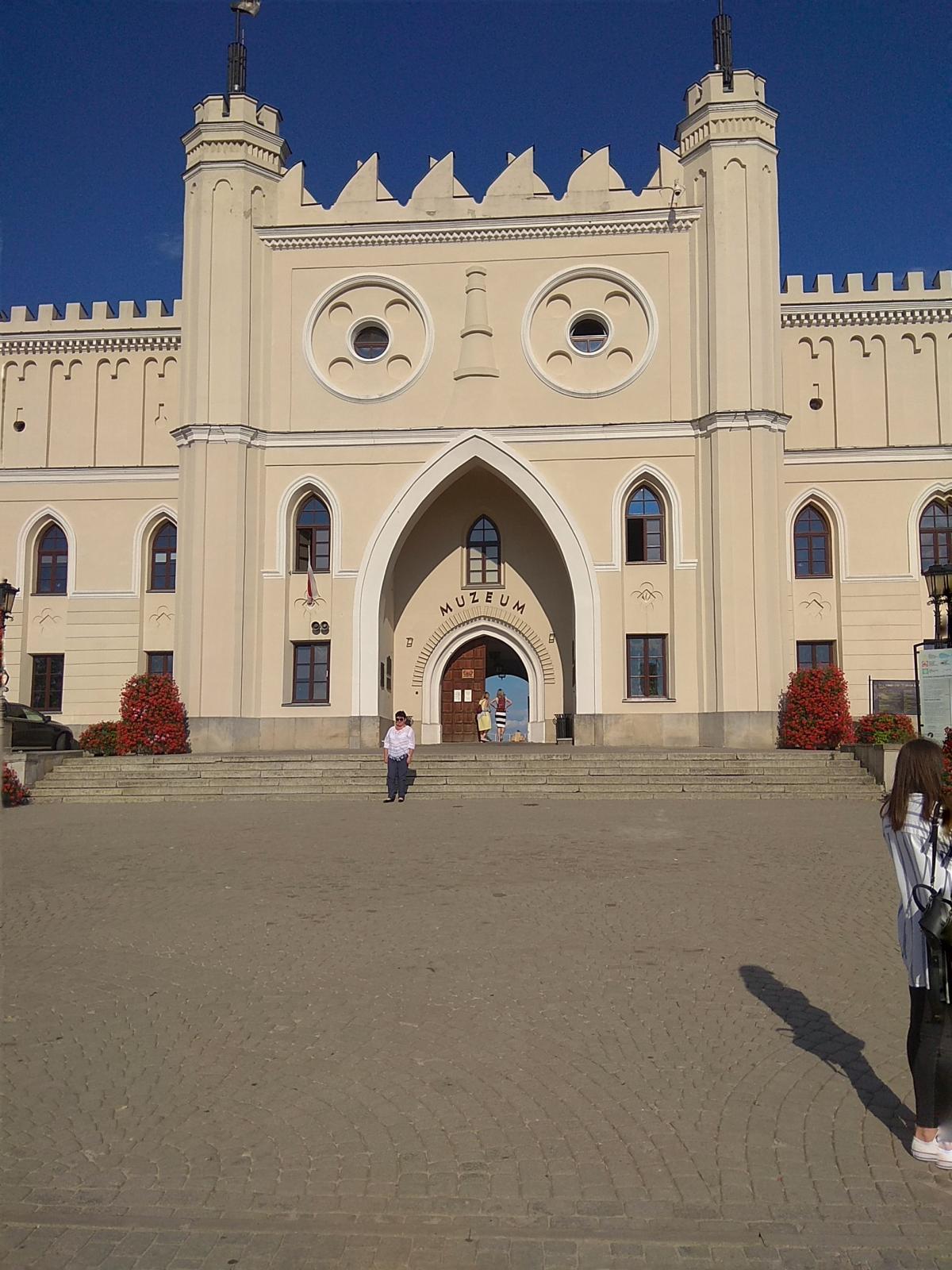 А вот и сам Люблинский замок / фото Варвара Вайс