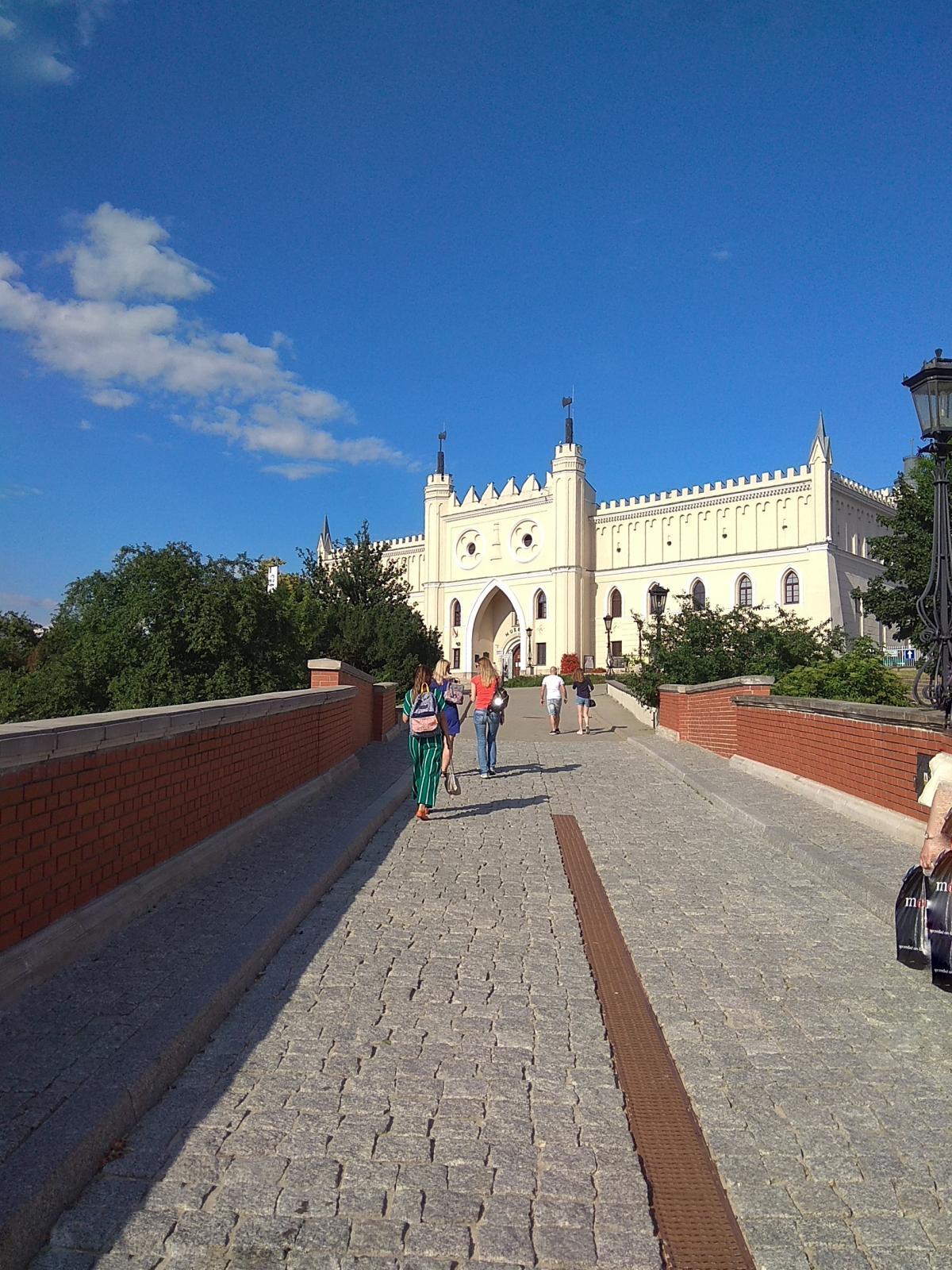 Мост к Люблинскому замку / фото Варвара Вайс