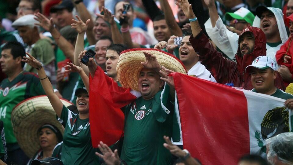 Сборная Мексики порадовала своих болельщиков 17 июня/ FIFAWorldCup