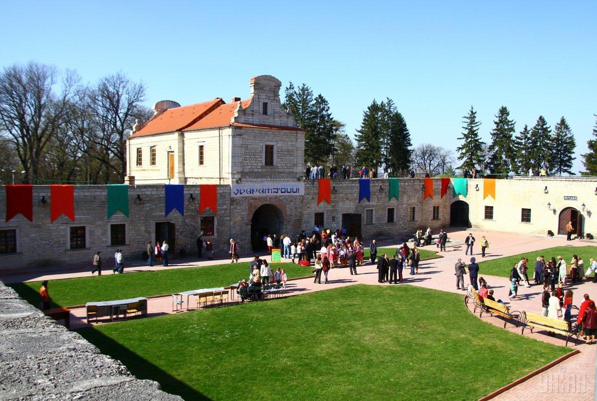 Збаразький замок - одна з найвідоміших місцевих пам'яток / Фото УНІАН