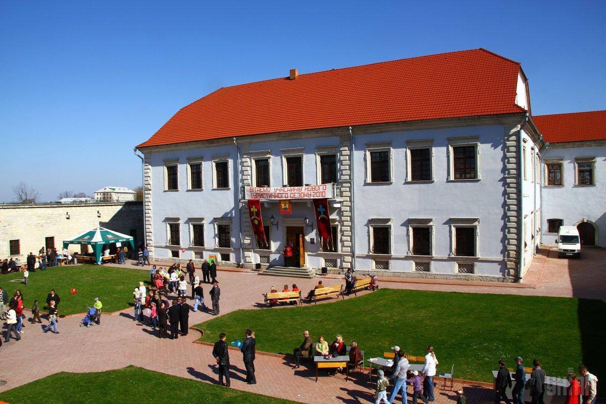 Палац замку в Збаражі / Фото УНІАН