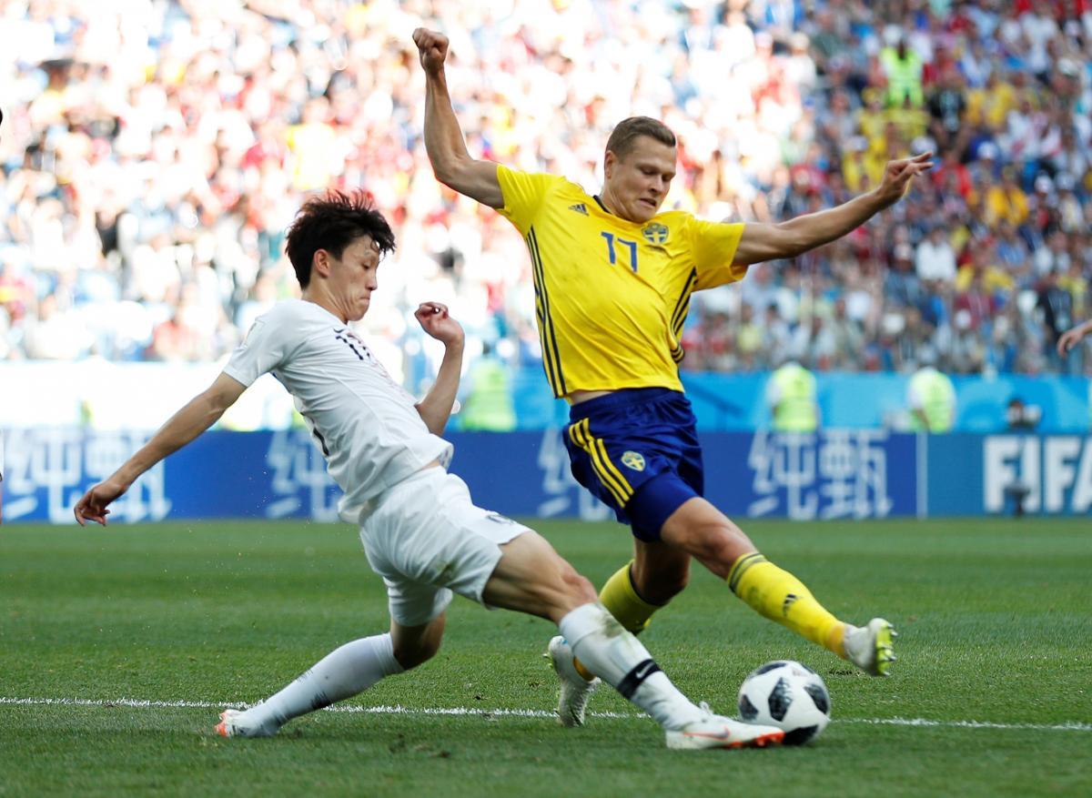 Швеція - Південна Корея / REUTERS
