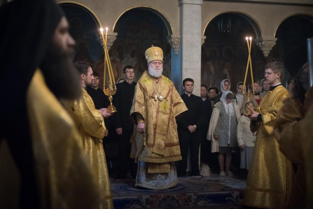 Митрополит Евгений совершил первые богослужения в качестве Предстоятеля Эстонской Православной Церкви / orthodox.ee/