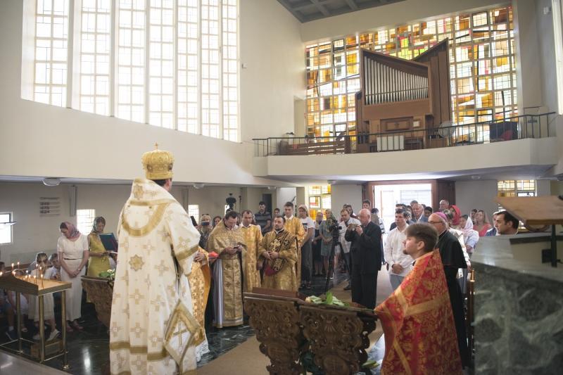 В Монако совершена первая Божественная литургия архиерейским чином / cerkov-ru.eu