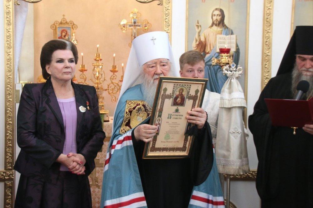 Новый храм был освящен в день 55-летия полета Валентины Терешковой в космос/ rg.ru