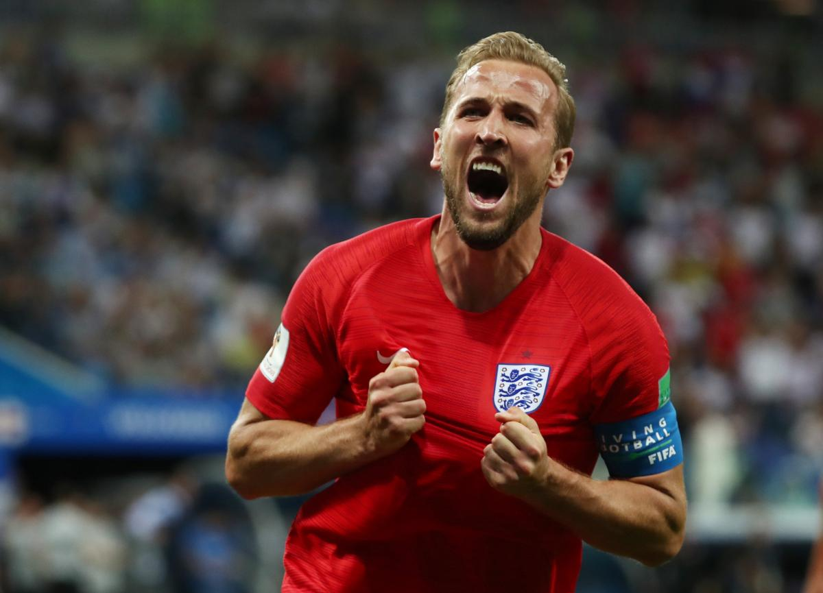 Харри Кейн принес победу Англии на последних минутах / REUTERS