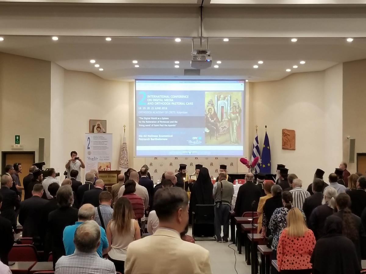 """Міжнародна конференція «DMOPC18 - Жива вода» / Фото """"УНІАН-Релігії"""""""