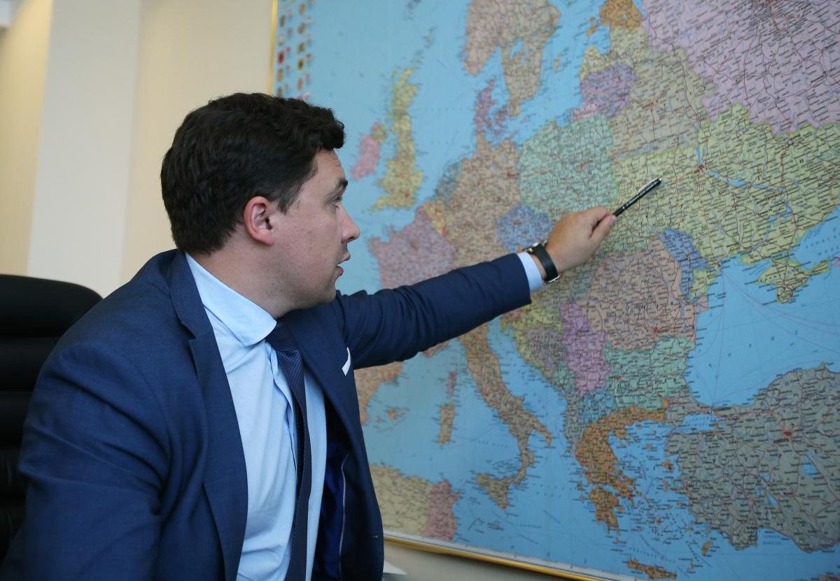 Віктор Довгань розповів про інфраструктурні проекти, що поєднають Україну з Європою / фото УНІАН
