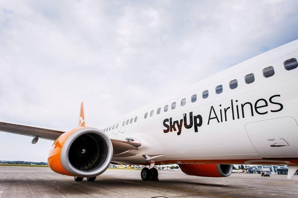 Рейсы из Киева во Львов будут осуществляться два раза в неделю / фото facebook/skyup.airlines