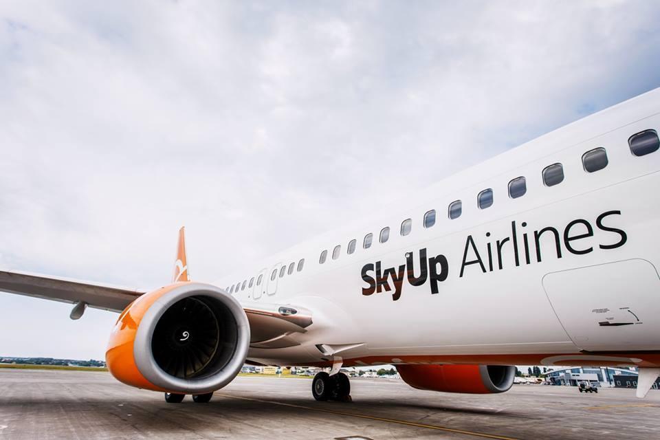 SkyUp пока не будет летать в Полтаву / Фото facebook.com/skyup.airlines