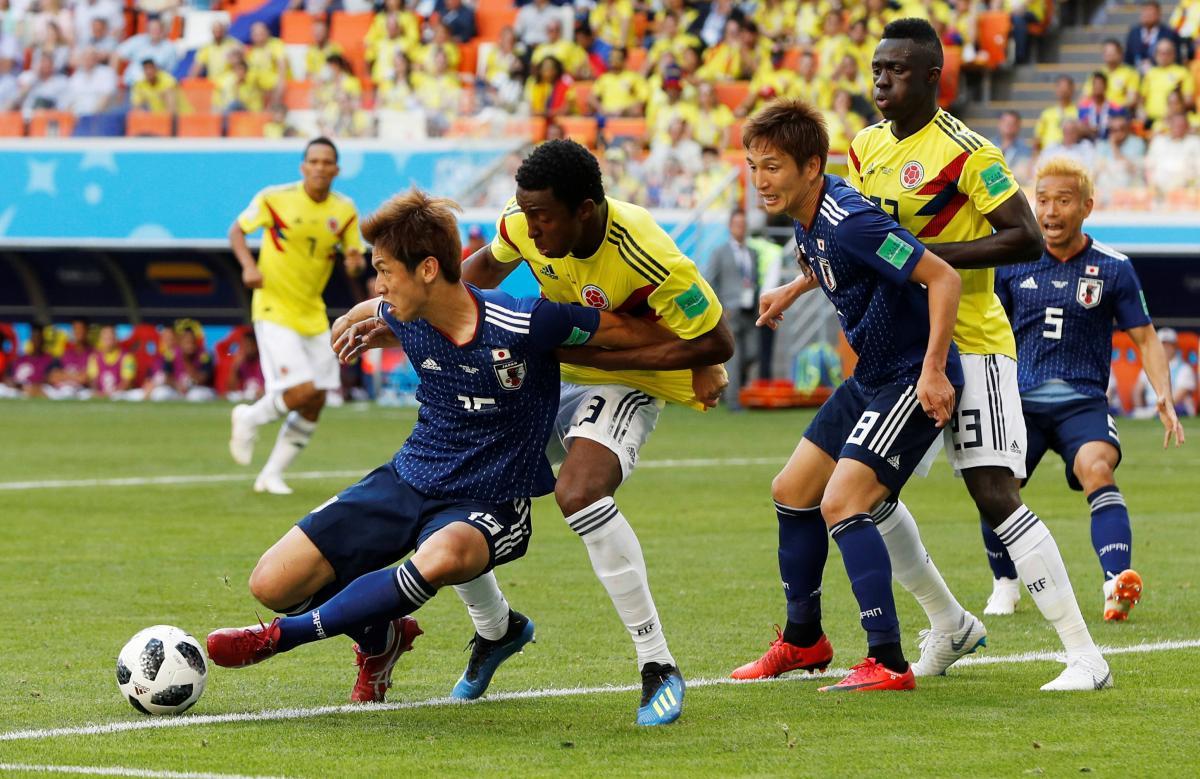 Збірна Японії набрала перші 3 очки на ЧС-2018 / Reuters