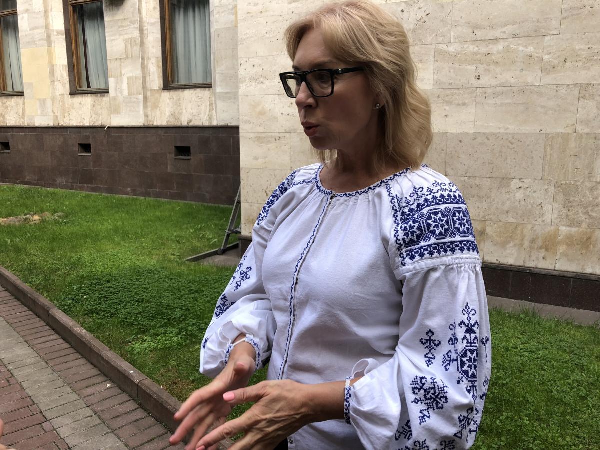 Денисова планирует обсудить с послами ЕС ее недопуск к украинскимполитзаключенным/ фото УНИАН