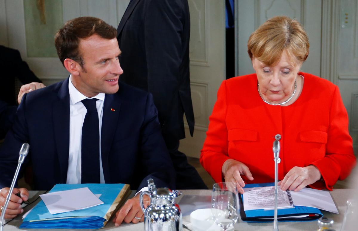 Ангела Меркель і Еммануель Макрон / REUTERS