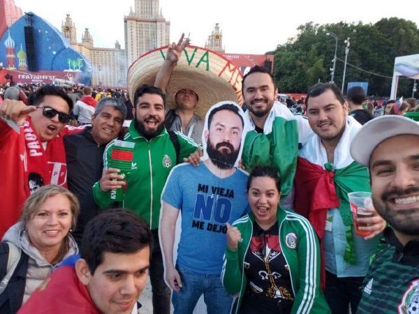Фанаты сборной Мексики / Twitter